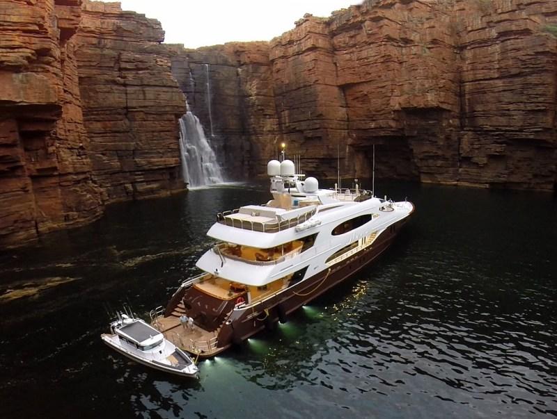 yacht de luxe plus beau du monde