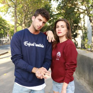 La collection de sweat-shirt unisex Edgard Paris