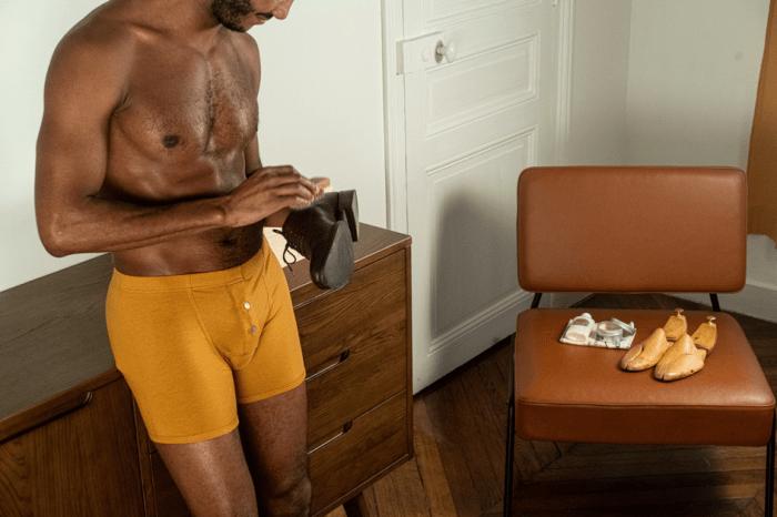 Boxer homme underwear sous vêtement Pétrone