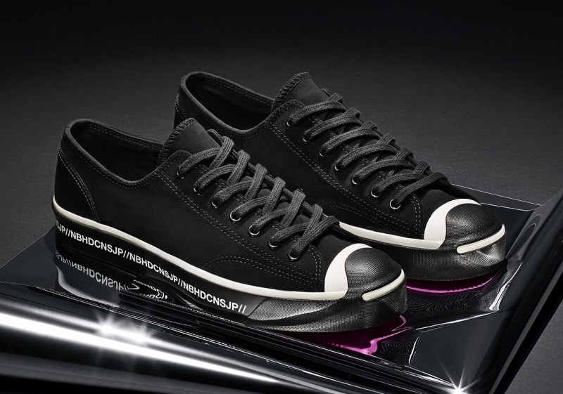 Sneakers chaussures homme colab Neighborhood x Converse – Motorcycle