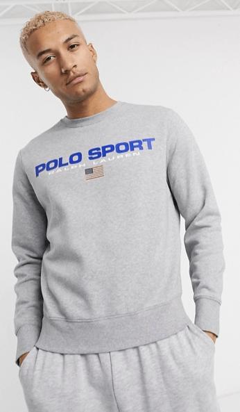 polo-ralph-lauren-sweatshirt-gris-look-de-la-semaine