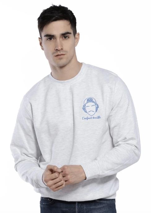 sweatshirt-broderie-lenfant-terrible-gris-chiné-look-de-la-semaine;