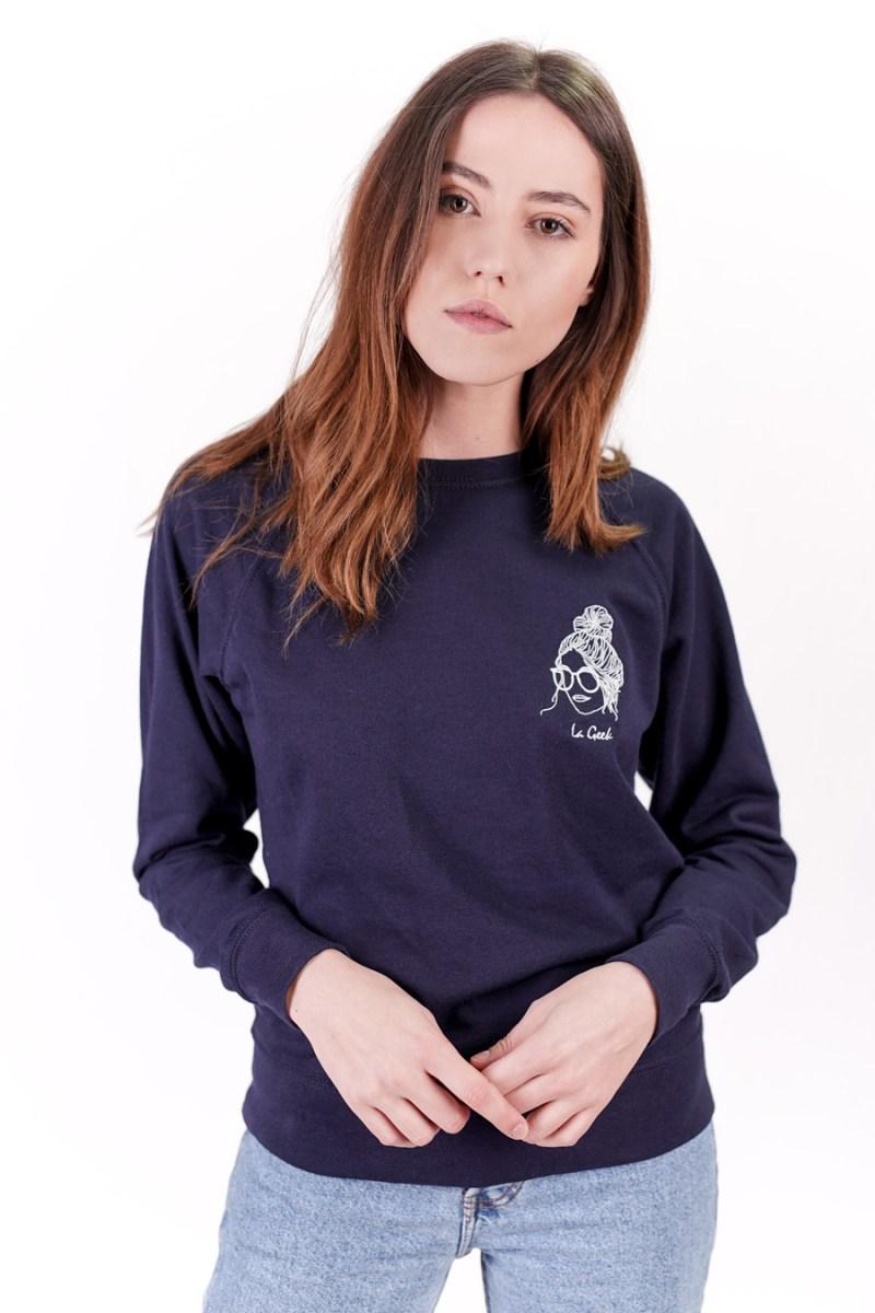 sweat-shirt femme made in france Edgard Paris