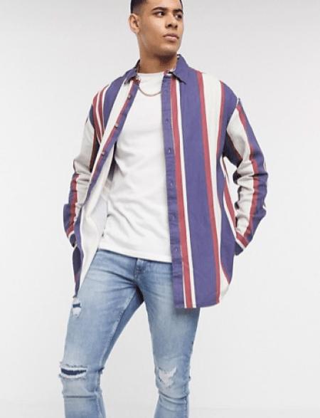 look de la semaine chemise oversize