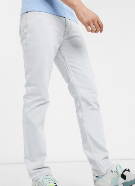 look de la semaine jean bleu clair
