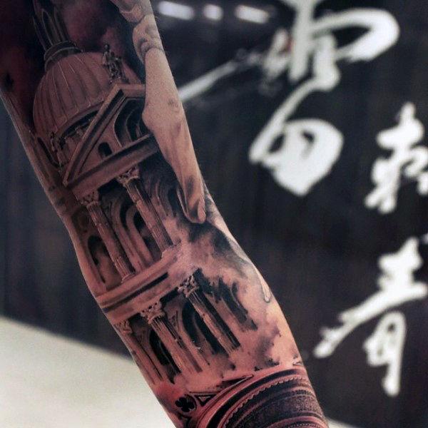 tatouages les plus à la mode tatouage de monuments