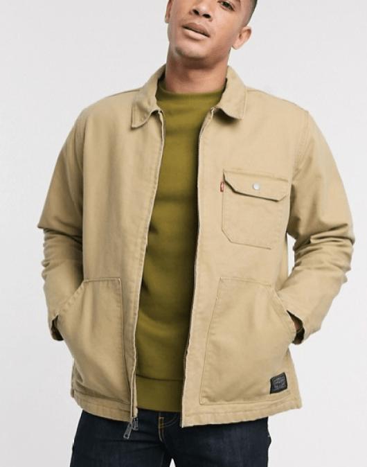 wishlist fête des père veste waller Levi's