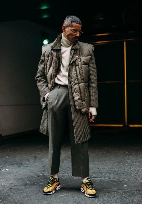 streetwear pantalon droite
