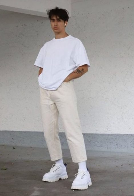 t-shirt basique streetwear