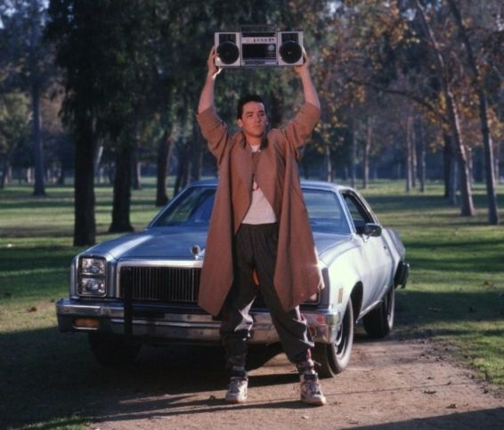 déclarer sa flamme comme dans say anything