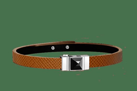 LYS & DHEER bracelet en cuir personnalisable