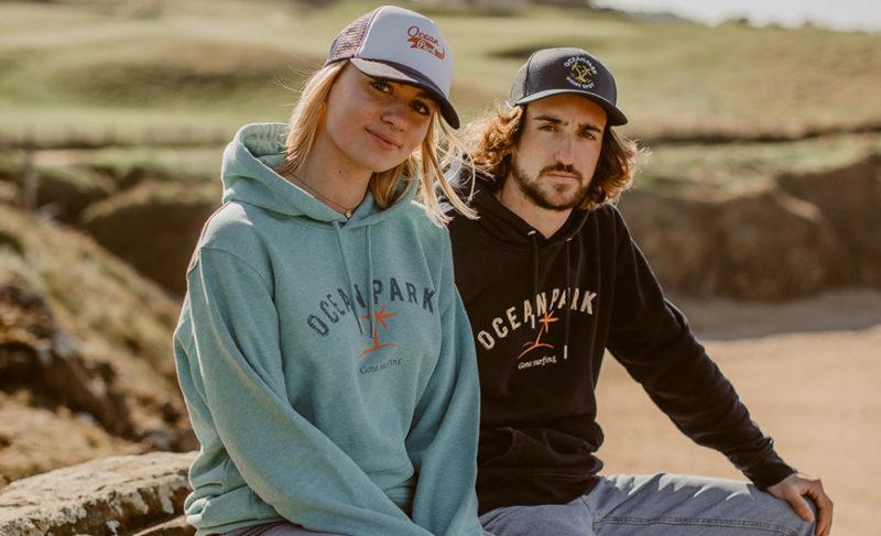 Sweats et t-shirts Ocean Park : surf et humour à la bretonne