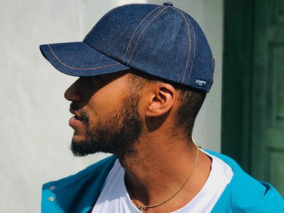 Le Chapoté casquette en jean