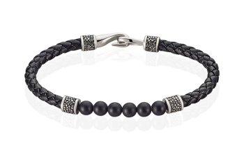 Style de la semaine 41 Bracelet à perles et tressé