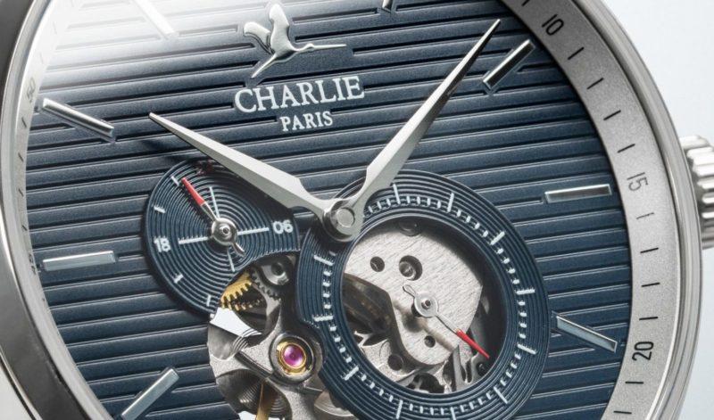 Marque de montre française à coeur ouvert Charlie Paris