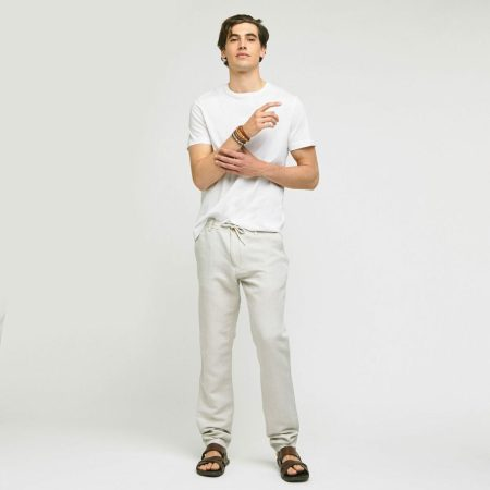 T shirt rentré dans le pantalon