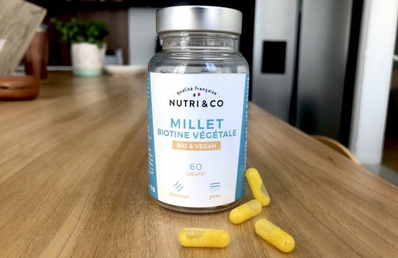 Test & Avis le Millet & Biotine Bio de Nutri&Co