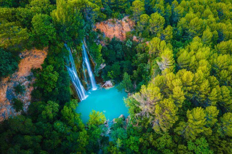 Destinations paradisiaques en France Sillans-La-Cascade