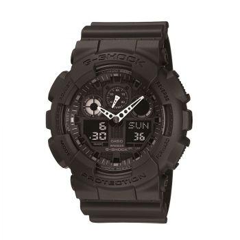 Idée de look 46 Montre Chronographe Homme Casio G-Shock GA-100-1A1ER