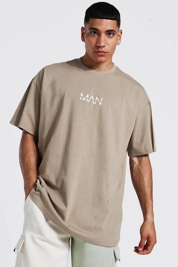 T-shirt oversize man Boohoo