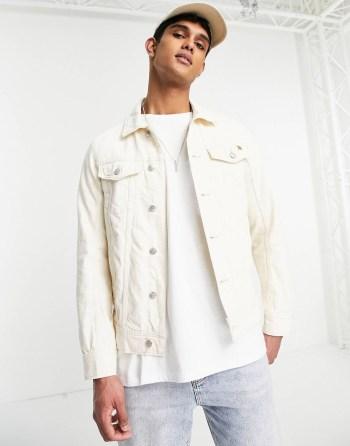 Outfit of the week Veste en jean écru Tom Tailor