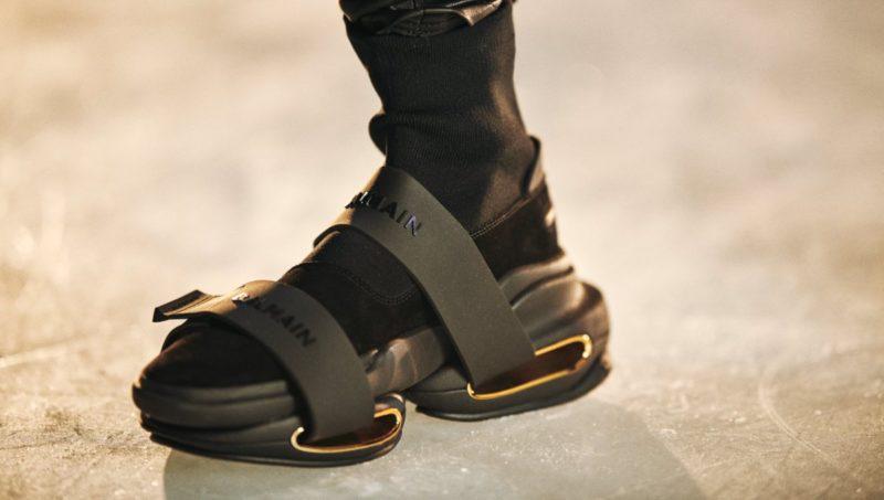 Les sneakers les plus moches jamais créées Balmain B-Bold