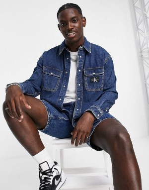 Chemise oversize en denim Calvin Klein Jeans