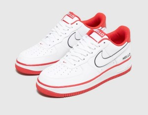 Nike Air Force 1 '07 rouge