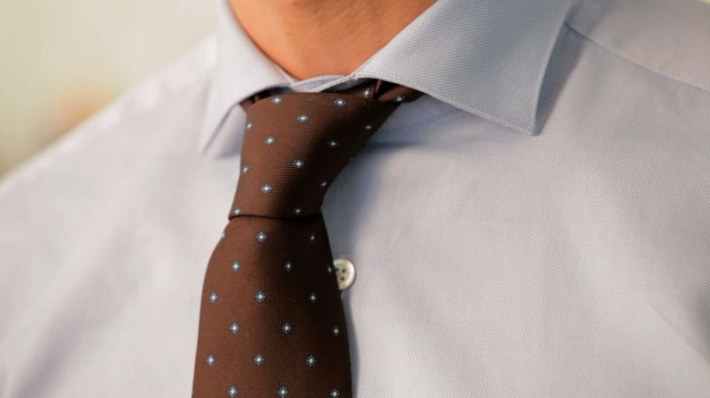Comment nouer sa cravate : Noeud Demi Windsor