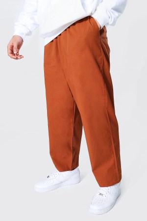 Pantalon chino large Boohoo