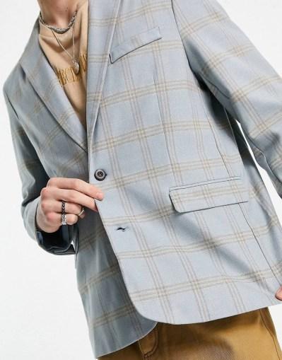 Vestes tendances pour la rentrée Blazer à carreaux Reclaimed Vintage
