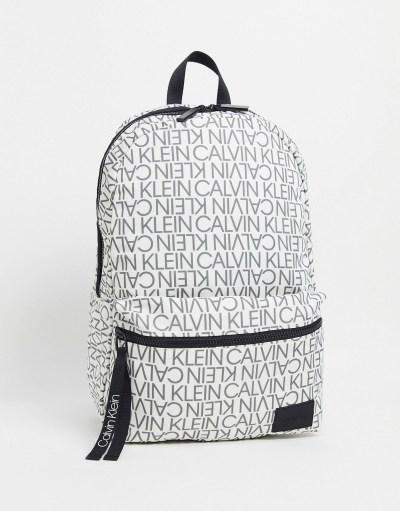 Sac blanc Calvin Klein