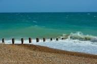 Los colores del mar son muy bonitos con la marea alta y la luz correcta.