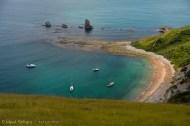 Mupe Bay, sirve de varadero para embarcaciones.