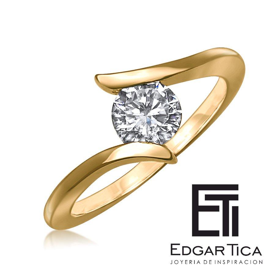 wayralia   anillo de compromiso de oro amarillo 18k   edgar tica
