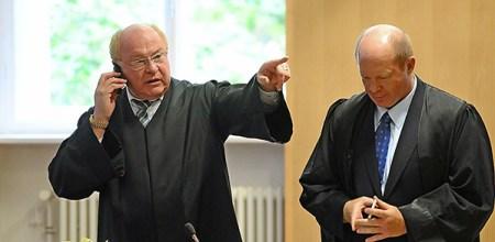 Prof. Dr. Edgar Weiler Gerichtssaal