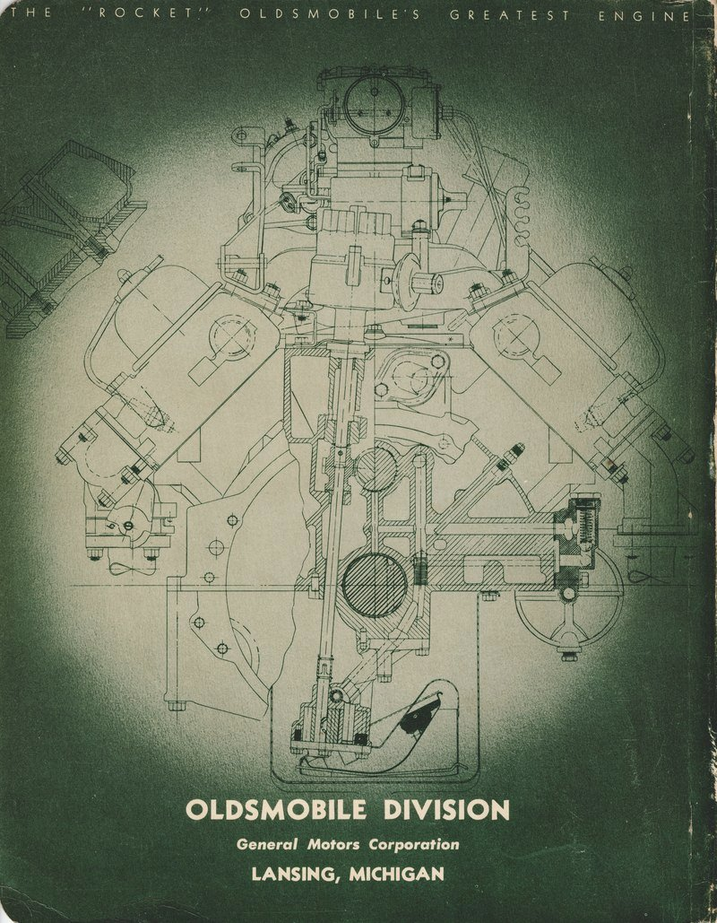 medium resolution of  oldsmobile 1949 shop manual 6 and 8