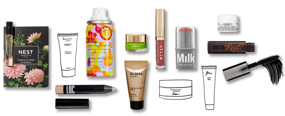 The Beauty Box Monthly Makeup Skincare And Haircare Samples