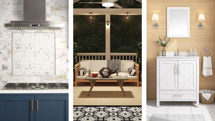 6 tile design ideas