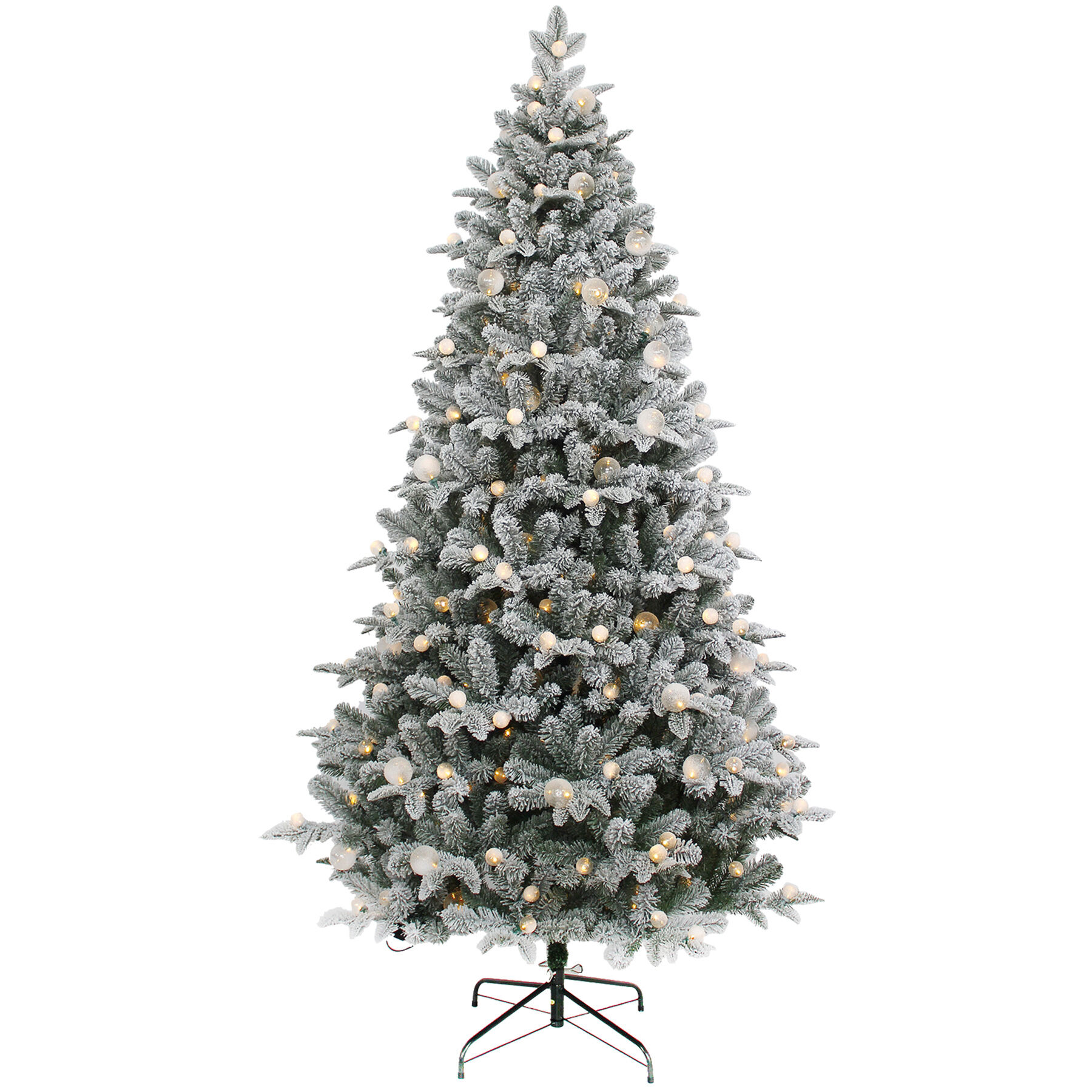 Gallery Of Christmas Tree 7ft Pre Lit Fabulous Homes