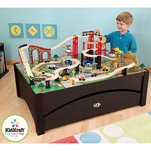 KidKraft Metro Train and Table Set  Train Set  Welcome
