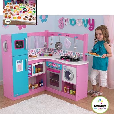 KidKraft My Groovy Gourmet Corner Kitchen  Video Gallery