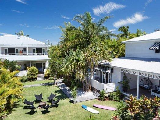 バイロンベイの大人だけのビーチハウス個人手配アトランティック・バイロンベイ