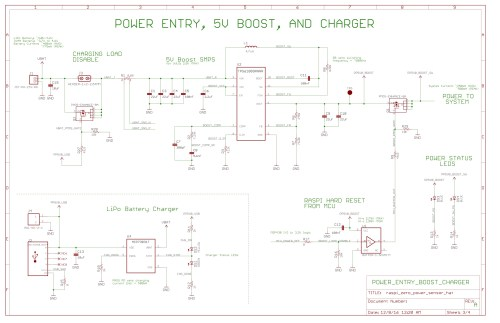 small resolution of pi hat schematic power entry and 5v boost charging