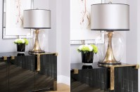 Concave Brass Lamp - Lighting - The Sofa & Chair Company