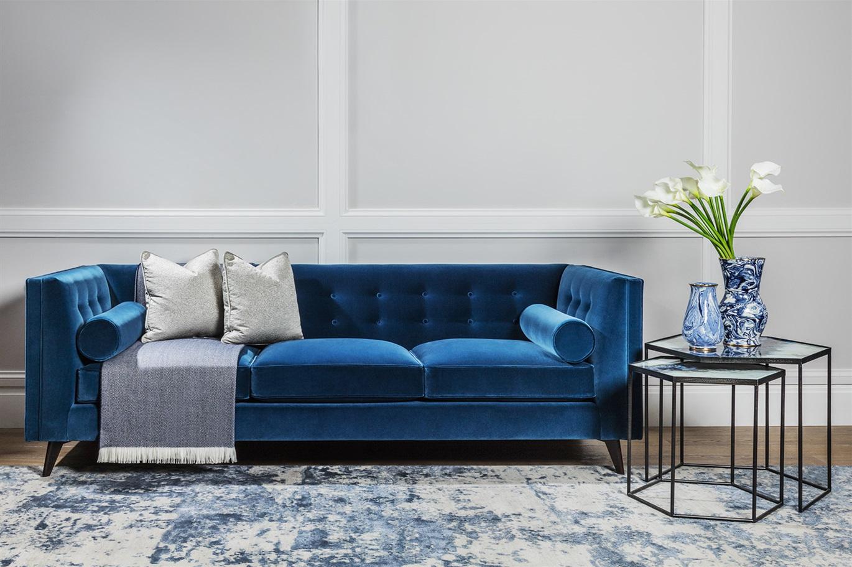 TRUE BLUE  The Sofa  Chair Company