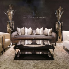 The Sofa And Chair Company Armless Sectional Our Showroom 01