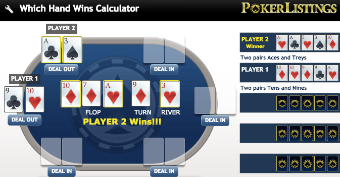 Which poker hand wins calculator also ranking free chart rh pokerlistings