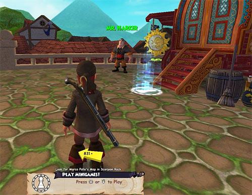 Mini Games Pirate101 Free Online Game