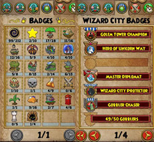Badges are recognitions that you have completed difficult and arduous tasks badge often include defeating  large number of the same kind monster also titles wizard free online game rh